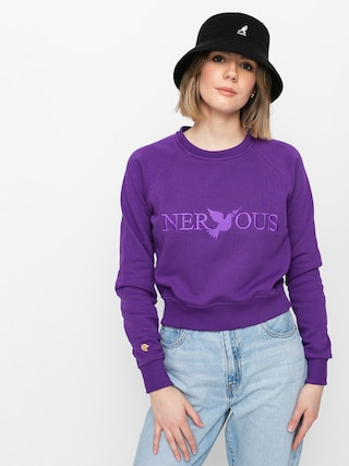 Mikina Nervous Classic Crew Wmn (purple)