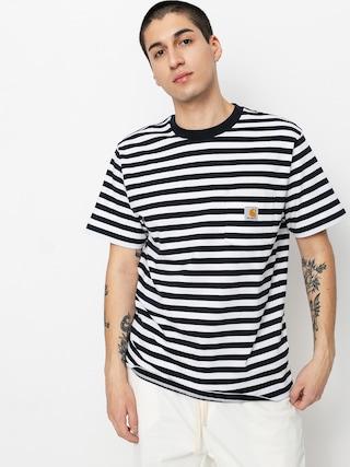 Triu010dko Carhartt WIP Scotty Pocket (scotty stripe dark navy/white)