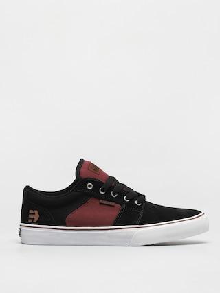 Topánky Etnies Barge Ls (black/red/beige)