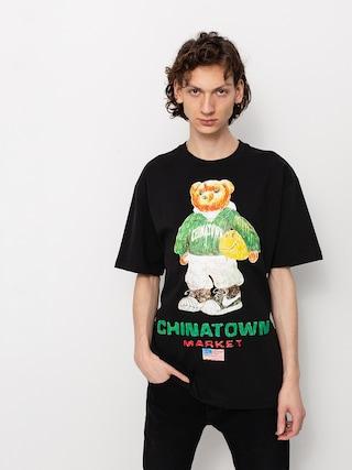 Triu010dko Chinatown Market Smiley Sketch Basketball Bear (black)