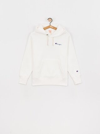 Mikina s kapucňou Champion Sweatshirt HD 113150 Wmn (wht)