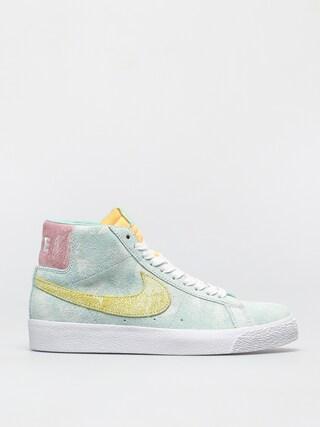 Topu00e1nky Nike SB Zoom Blazer Mid Premium (light dew/lt zitron green glow)