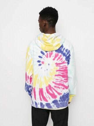 Mikina s kapucu0148ou Vans New Age HD (rainbow spectrum tie dye)