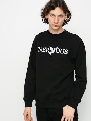 Mikina Nervous Classic Crew (black)