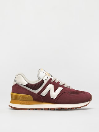 Topu00e1nky New Balance 574 Wmn (red/yellow)