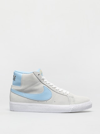 Topánky Nike SB Zoom Blazer Mid (photon dust/psychic blue photon dust)