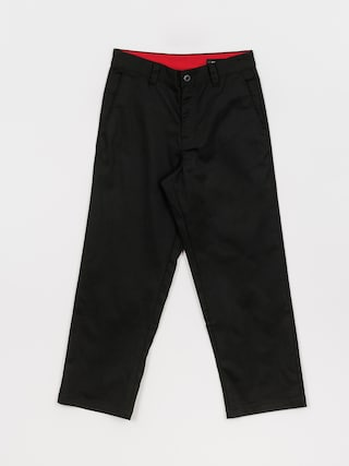 Nohavice Volcom Loose Trucks Chino (black)