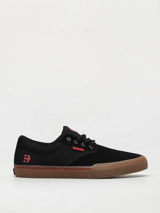 Topu00e1nky Etnies Jameson Vulc (black/red/gum)