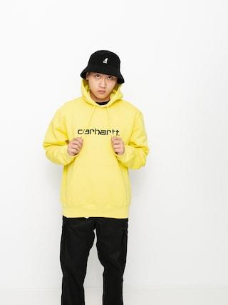 Mikina s kapucňou Carhartt WIP Sweat HD (limoncello/black)