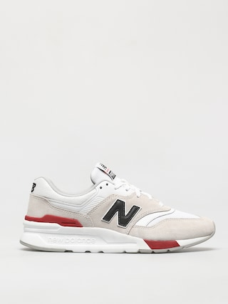 Topu00e1nky New Balance 997 (white/red)
