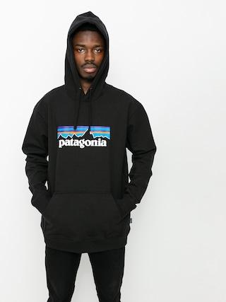Mikina s kapucňou Patagonia P6 Logo Uprisal HD (black)