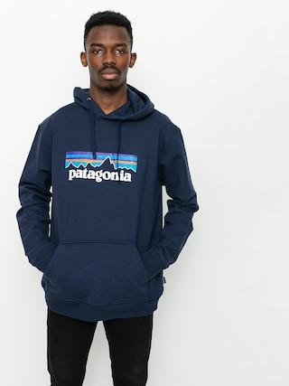 Mikina s kapucňou Patagonia P6 Logo Uprisal HD (classic navy)