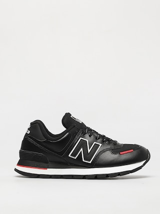 Topu00e1nky New Balance 574 (black/red)