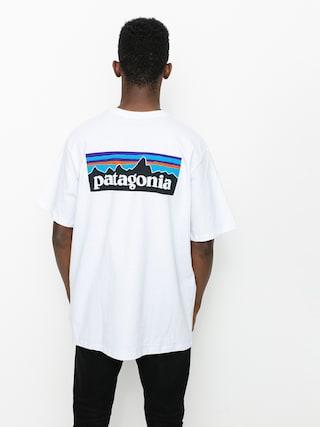 Triu010dko Patagonia P6 Logo Responsibili (white)