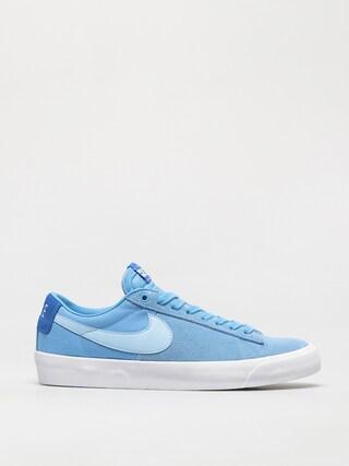 Topu00e1nky Nike SB Zoom Blazer Low Pro Gt (coast/psychic blue signal blue white)