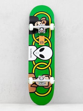 Skateboard Alienworkshop Missing Link (green)
