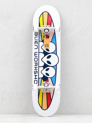 Skateboard Alienworkshop Spectrum (white)