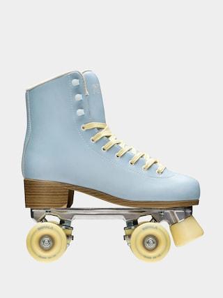 Kolieskovu00e9 koru010dule Impala Quad Skate Wmn (sky blue/yellow)
