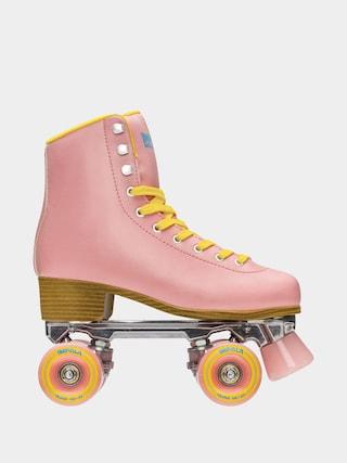 Kolieskovu00e9 koru010dule Impala Quad Skate Wmn (pink/yellow)