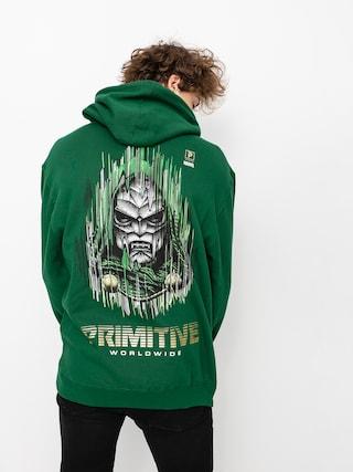 Mikina s kapucu0148ou Primitive Doom HD (dark green)