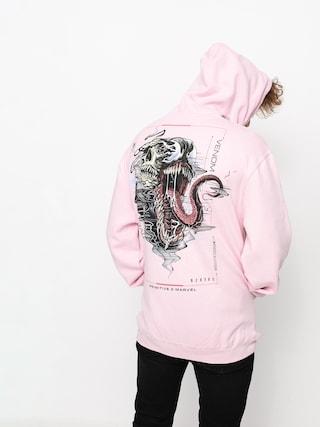 Mikina s kapucu0148ou Primitive Venom HD (pink)