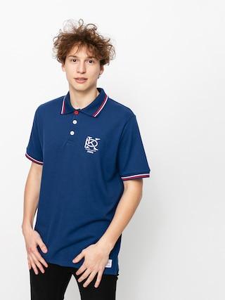 Polo tričko Prosto Mono (dark blue)