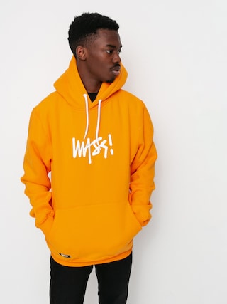 Mikina s kapucu0148ou MassDnm Signature Small Logo HD (orange)