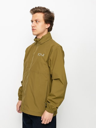 Bunda Polar Skate Coach (green brown)