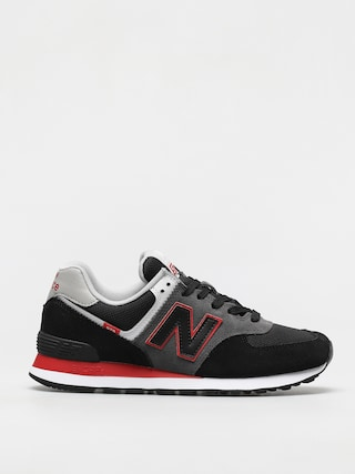 Topánky New Balance 574 (black/red)