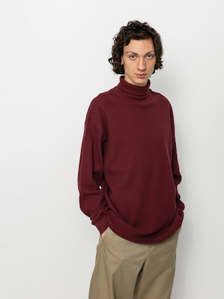 Triko Polar Skate Shin Turtleneck (wine)
