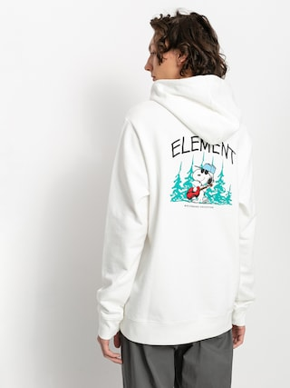 Mikina s kapucu0148ou Element Peanuts Good Times HD (off white)