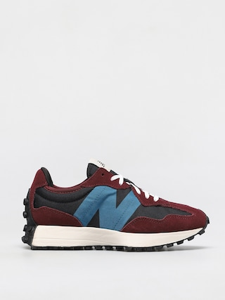 Topánky New Balance 327 Wmn (classic burgundy/lt rouge wave)
