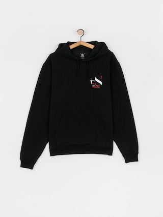 Mikina s kapucu0148ou eS Cutout HD (black)