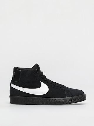 Topu00e1nky Nike SB Zoom Blazer Mid (black/white black black)