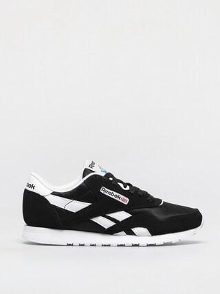 Topánky Reebok Cl Nylon Wmn (black/black/white)