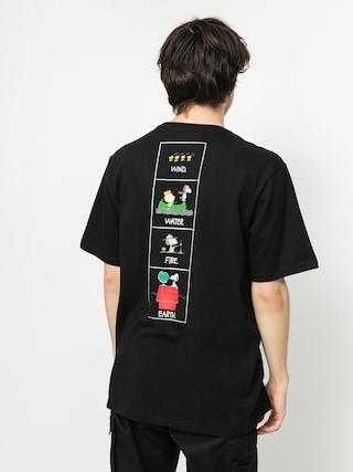 Triu010dko Element Peanuts Page (flint black)