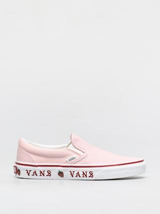 Topánky Vans Classic Slip On (sidewall print blushing bride/strawberry)