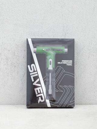 Ku013eu00fau010d Silver Tool (green/silver)