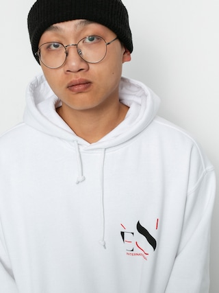 Mikina s kapucu0148ou eS Cutout HD (white)