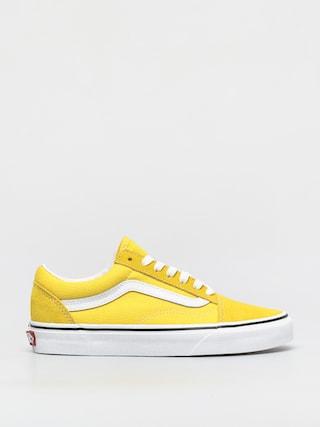 Topu00e1nky Vans Old Skool (cyber yellow/true white)