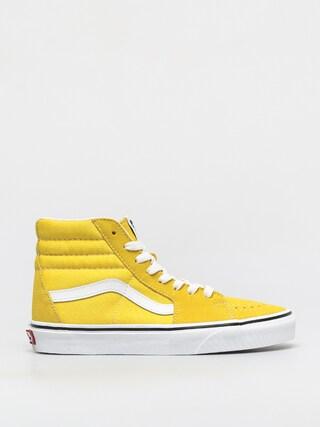 Topu00e1nky Vans Sk8 Hi (cyber yellow/true white)