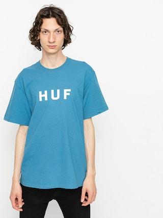 Tričko HUF Essentials Og Logo (columbia blue)