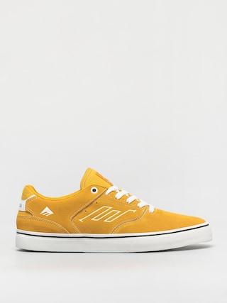 Topu00e1nky Emerica The Low Vulc (yellow/white)
