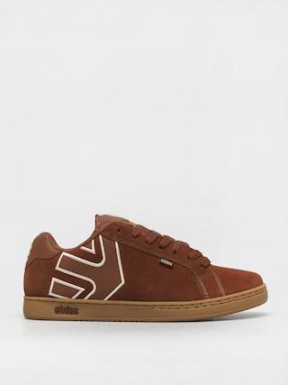 Topánky Etnies Fader (brown/beige/gum)