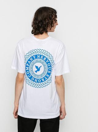 Tričko Nervous Swirl (white)