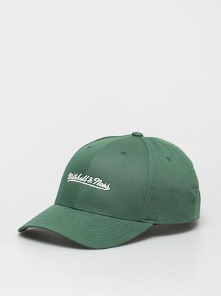 u0160iltovka Mitchell & Ness Script Low Pro ZD (branded/dark green)