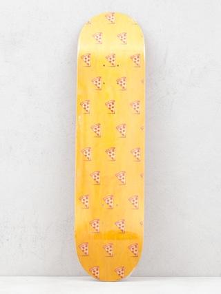 Doska Pizza Skateboards Emoji Pattern (orange)
