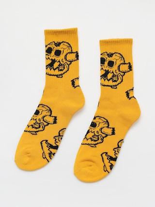 Ponou017eky Toy Machine Monster Skull (mustard)