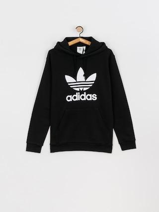 Mikina s kapucňou adidas Originals Trefoil HD (black/white)
