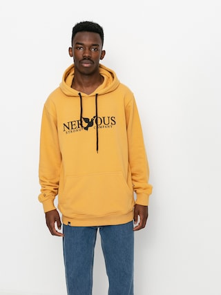 Mikina s kapucňou Nervous Classic HD (yellow)